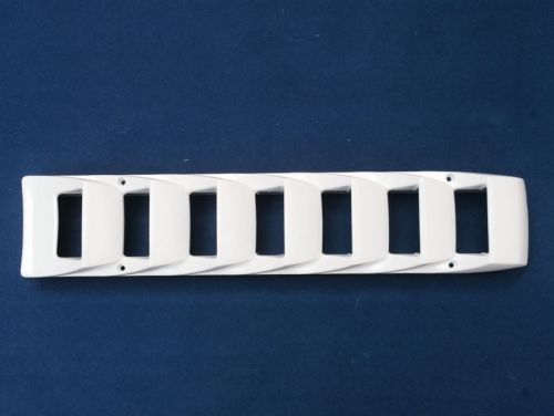 Air Vent (Side) ABS Plastic White