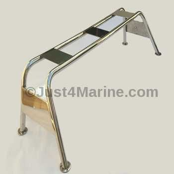 Radar Arch Bridge Mast 316 Stainless Steel - 1175mm