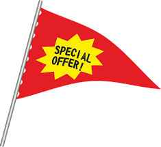 <!-- 015 --> SPECIAL OFFERS