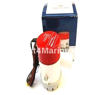 1100 GPH Bilge Water Pump Submersible 12V