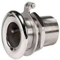 Skin Fitting/Deck Drain Stainless Steel 316 1.25