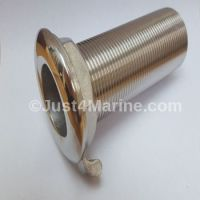 Skin Fitting Deck Drain 316 Stainless Steel - 1.25