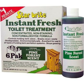 STAR BRITE Instant Fresh Toilet Treatment -  6 x 237ml Pack