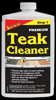 STAR BRITE Teak Premium Cleaner Step 1 - 946ml 32oz