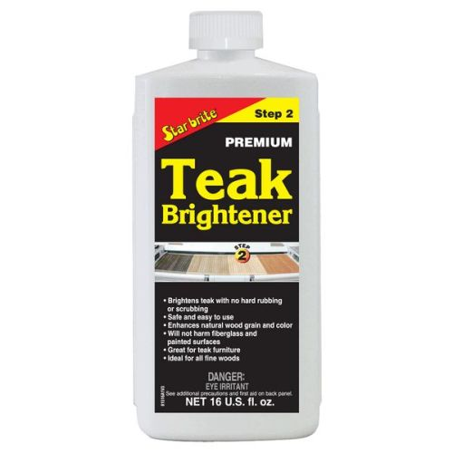 STAR BRITE Premium Teak Brightener Step 2 - 473ml 16oz