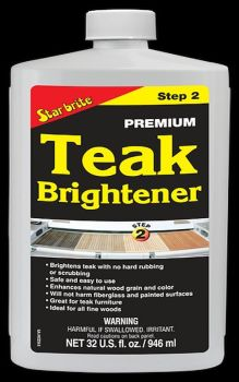 STAR BRITE Premium Teak Brightener Step 2 - 946ml 32oz