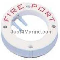 Fire Port Access Extinguish Fire - White Rim