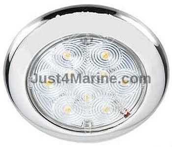 LED Light 12V Flush Mount Stainless Steel