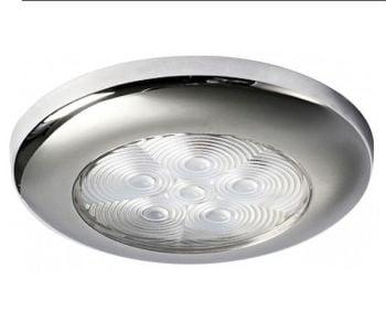 LED Ceiling Courtesy White Light Stainless Steel - 12V 1.2W IP67