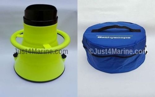 BATHYSCOPE Aquascope Underwater Survey/Viewer PLUS Storage Bag