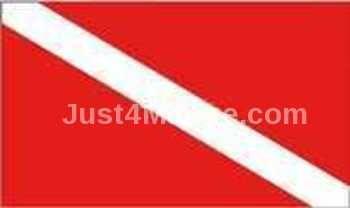 Diver Down Flag - 30 x 45cm