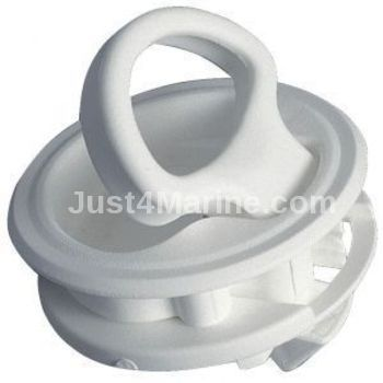 Plastic Nylon Flush Pull Latch - 60mm