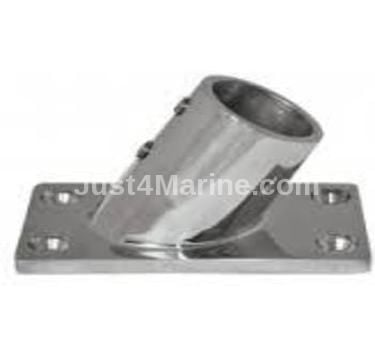 Pulpit Base Rectangle 316 Stainless Steel - 60 Degree 22mm 7/8""