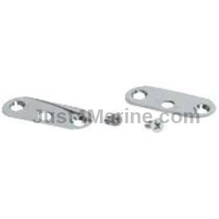 Plate & Screw Mounting for Handle Rail - Stainless Steel