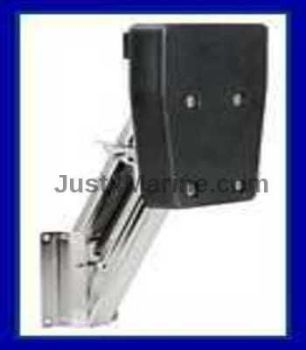 Auxiliary Outboard Motor Folding Bracket Stainless Steel  - up to 7HP or 25KG