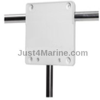 "Outboard Engine Motor Storage Bracket Rail Mount - 25mm 1"" Rail"
