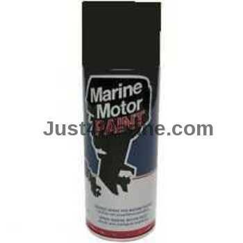 Mariner Engine Boat Gloss Spray Paint 400ml - Black