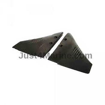 Hydrofoil stabiliser fins for outboard engines 60 to 200 hp for Fin for boat motor