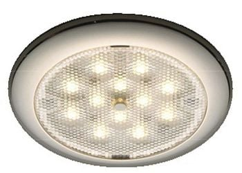 Procion LED Ceiling Light Stainless Steel - White Blue Light 12V 24V IP65