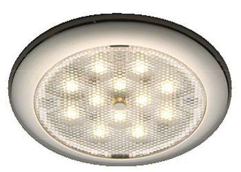 Procion LED Ceiling Light Stainless Steel - White Blue Light 12V 24V IP65