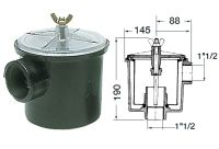 Raw Water Utility Strainer Filter - 1.25