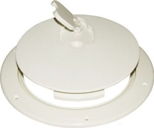 Inspection Round Access Hatch Watertight - 265mm White