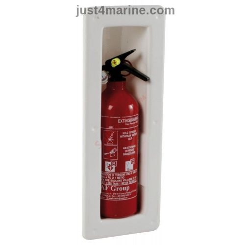 Fire Extinguisher Compartment Housing Locker - Snap In