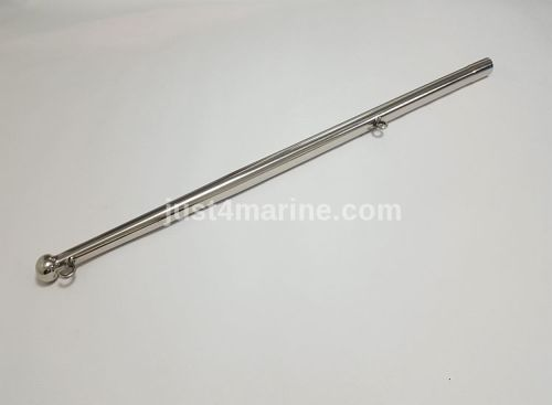 Flagpole AISI 316 Stainless Steel with Hook & Flag Fitting
