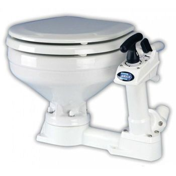Jabsco Manual Toilet White