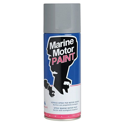 VOLVO Penta Acrylic Grey Spray Paint - 400ml 1989 & Later