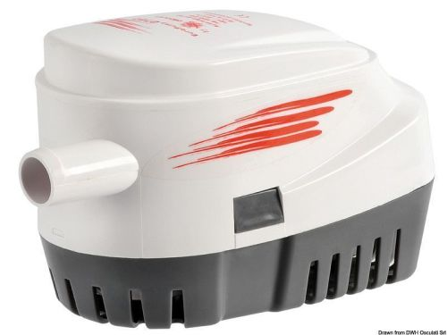 Europump II Bilge Pump Automatic G750 12V - 2880lph