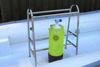 Dive Bottle Rack 316 Marine Stainless Steel - 4 Cylinder Bottle
