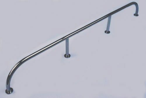 High Level Grab Rail / Handrail 316 Stainless Steel -  1800mm x 200mm