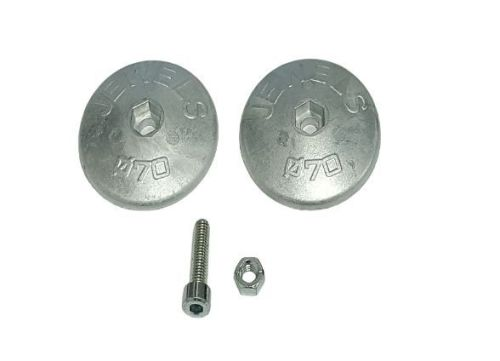 ANODE Rose Round Jewel Zinc - 450g 70mm