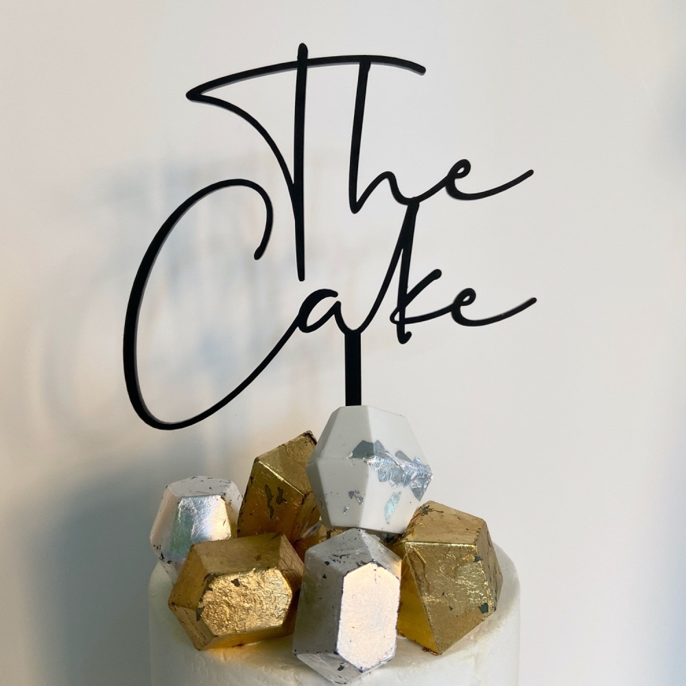 'The Cake' Cake Topper