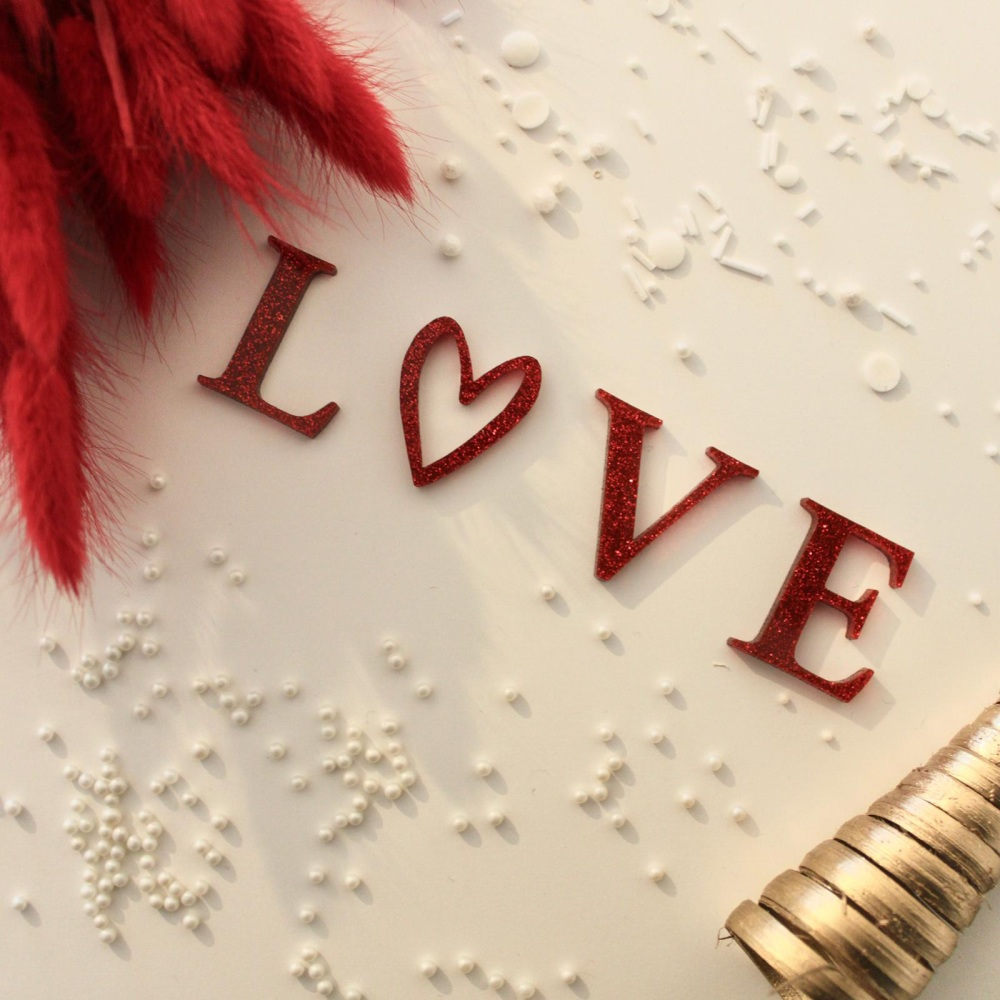 LOVE Individual Charm Set