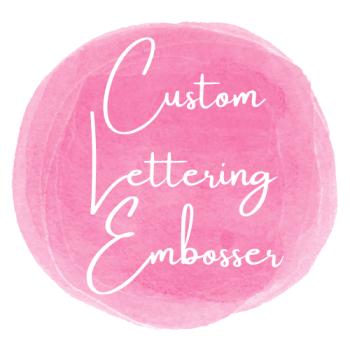 Custom Lettering Embosser