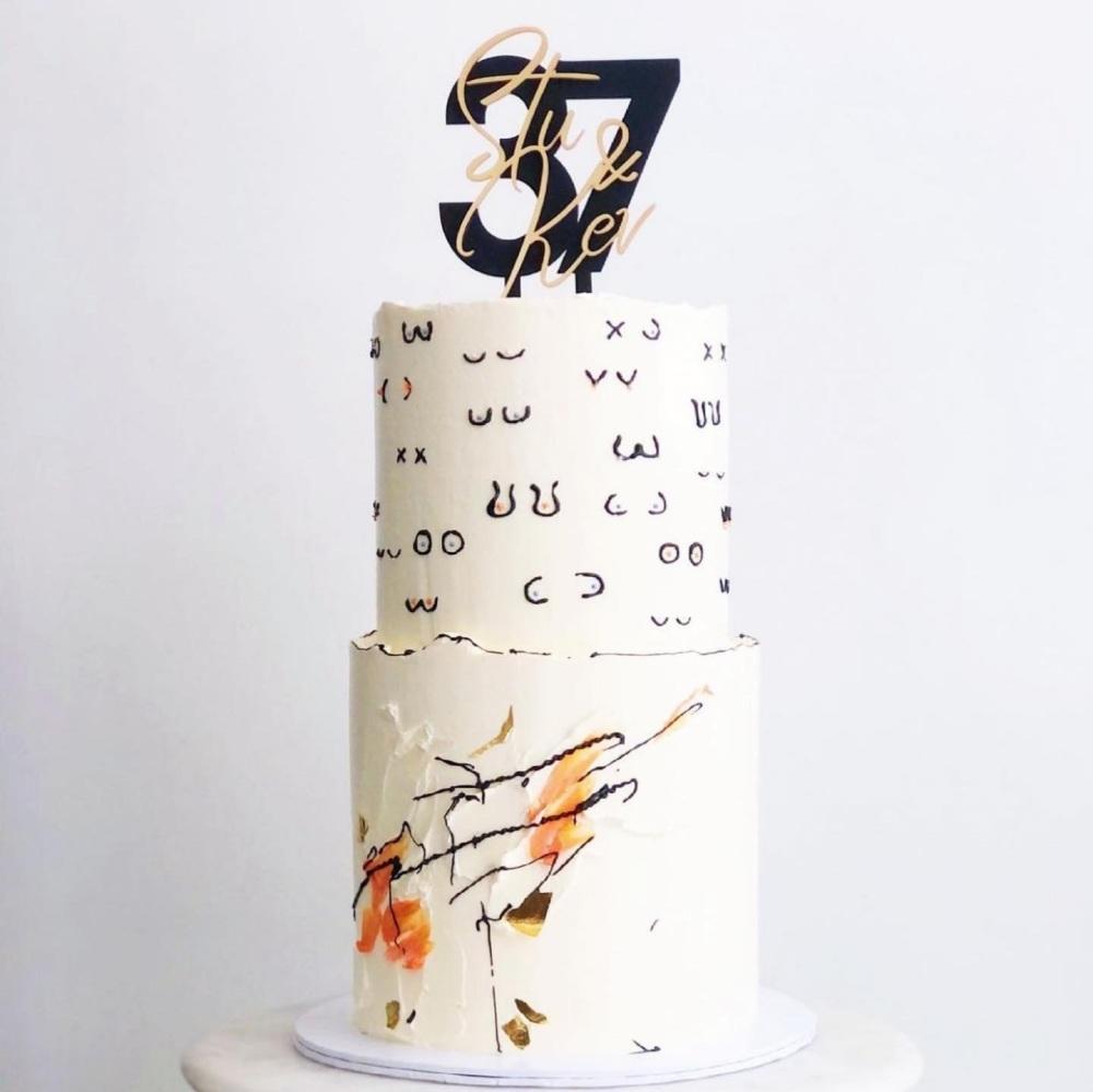 Bespoke Design Service - Double Layer Cake Topper