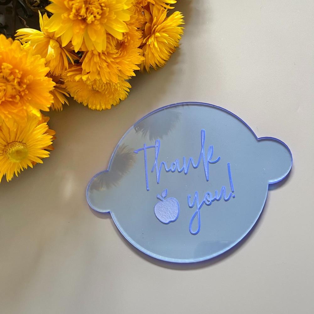 Teacher 'Thank You' Embosser