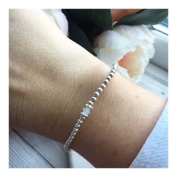 Swarovski Crystal Birthstone Bracelet- June