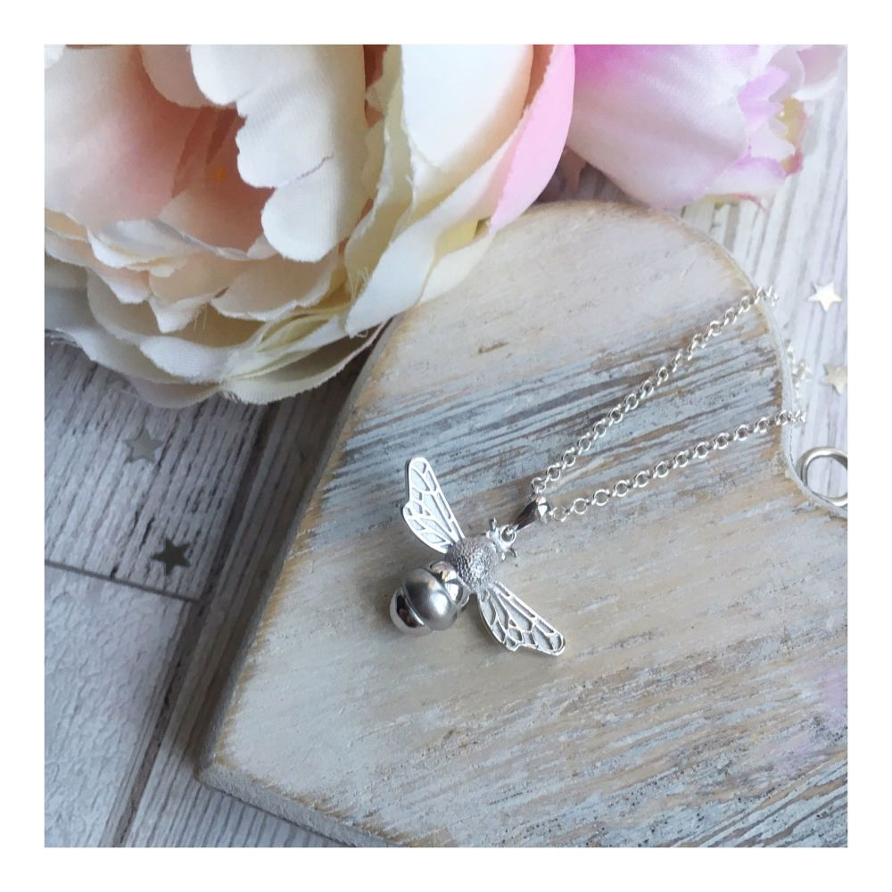 Large Sterling Silver 'Queen Bee' Pendant
