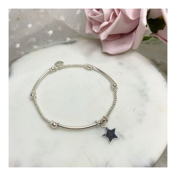 Mini Boodle Sterling Silver Star Bracelet