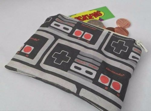 Coin Purse Made With NES Controller Fabric