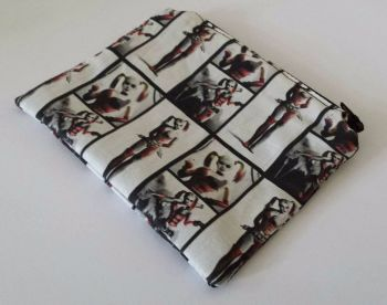 Coin Purse Made With Harley Quinn Arkham City Fabric