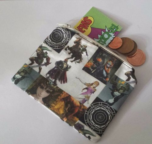 Coin Purse Made With Legend Of Zelda Twilight Princess Fabric