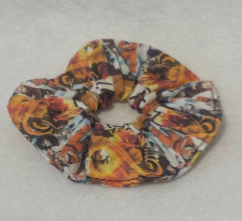 Scrunchie Made With Naruto Fabric