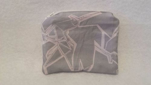 Coin Purse Made With Blade Runner Origami Unicorns Fabric