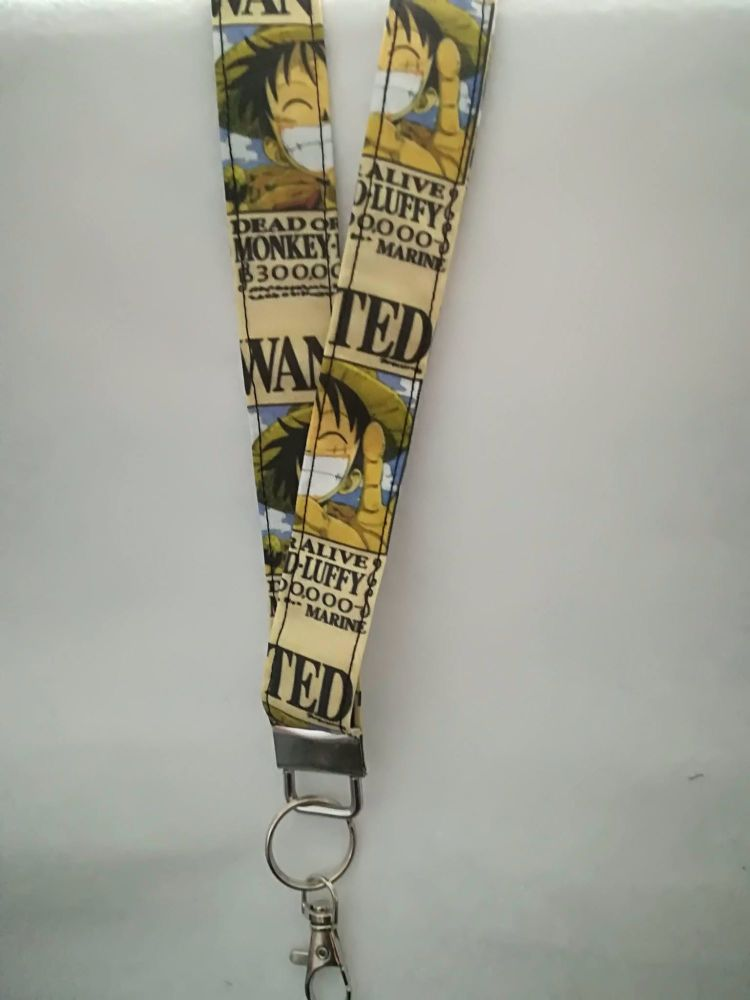 Lanyard Made With One Piece Fabric
