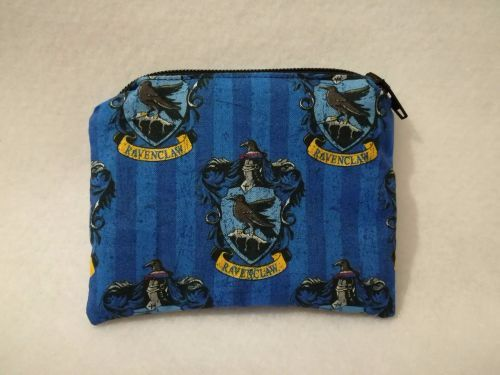 Coin Purse Made With Harry Potter House Fabric - Ravenclaw