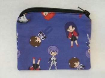 Coin Purse Made With Neon Genesis Evangelion Fabric